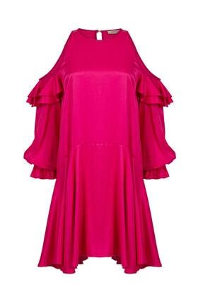 Nocturne Omuz Detaylı Mini Elbise 3