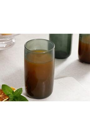 English Home Pia Cam 3'lü Meşrubat Bardağı 365 Ml Yeşil 1