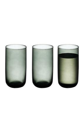 English Home Pia Cam 3'lü Meşrubat Bardağı 365 Ml Yeşil 2