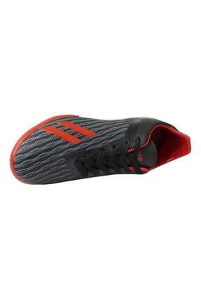 Jump 25849 Siyah-kırmızı Halı Saha Erkek Futbol Ayakkabı 3