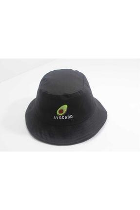 Accessory City Avocado Amblemli Bucket Şapka 0