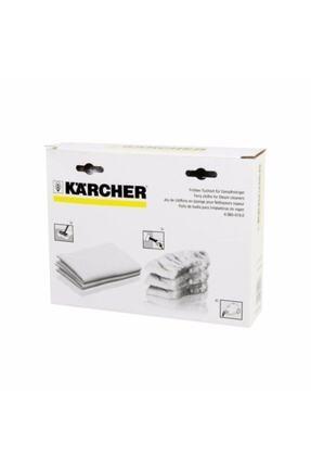 Karcher Beyaz Buharlı Temizlik Makinesi Havlu Bez Seti Sc2 Sc3 Sc4 Sc5 Uyumlu 2