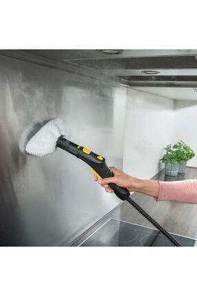 Karcher Beyaz Buharlı Temizlik Makinesi Havlu Bez Seti Sc2 Sc3 Sc4 Sc5 Uyumlu 3