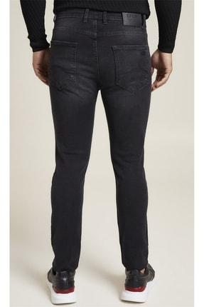 Efor 071 Slim Fit Siyah Jean Pantolon 4