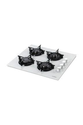 Luxell Lx-40ts-hdf Beyaz Doğalgazlı Set Üstü-ankastre Cam Ocak 0
