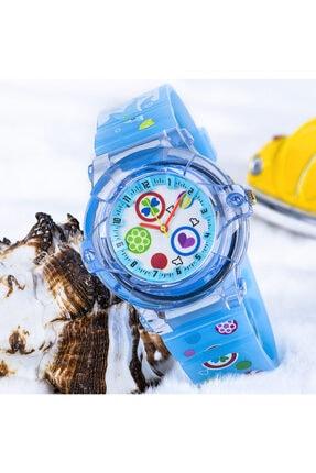 Picture of Açık Mavi Renk Silikon Kordonlu Marka Çocuk Saat St-303711