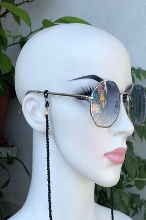 İsabella Accessories Kadın Güneş Gözlük Zinciri Boncuk Gözlük Ve Maske Askısı 1