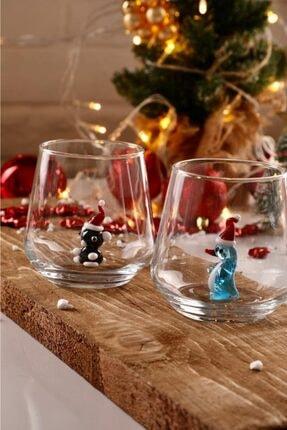 mozaikturk Yılbaşı Özel 6'lı Su Bardağı Seti 2