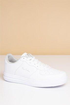 Pierre Cardin Erkek Günlük Spor Ayakkabı-Beyaz PCS-10155 0