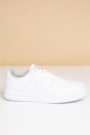 Pierre Cardin Erkek Günlük Spor Ayakkabı-Beyaz PCS-10155 1