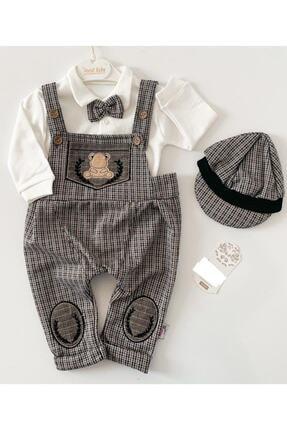 Murat Baby Erkek Çocuk Kahverengi Salopet Takım 0