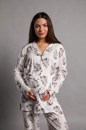 Lohusa Sepeti Emma Büyük Beden Lohusa Pijama Takımı 2