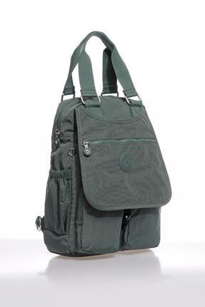Smart Bags Smbky1174-0005 Haki Kadın Sırt Çantası 1