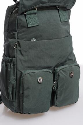 Smart Bags Smbky1174-0005 Haki Kadın Sırt Çantası 3