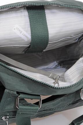 Smart Bags Smbky1174-0005 Haki Kadın Sırt Çantası 4