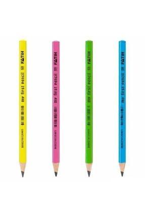 Fatih 6 Adet Ilk Kalemim Jumbo Üçgen Kurşun Kalem 6 Adet 0