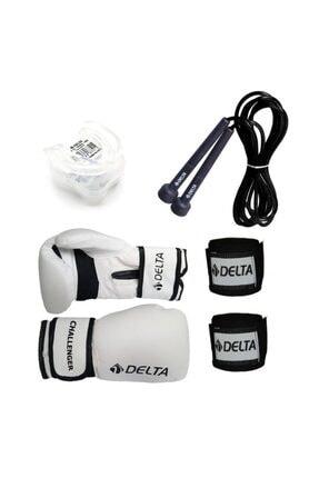 Delta Stron Boks Seti (Boks Eldiveni - El Bandajı - Atlama Ipi - Dişlik) 0
