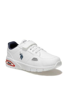 US Polo Assn ARTY Beyaz Erkek Çocuk Yürüyüş Ayakkabısı 100551779 0