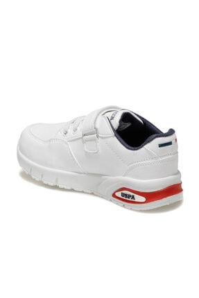 US Polo Assn ARTY Beyaz Erkek Çocuk Yürüyüş Ayakkabısı 100551779 2
