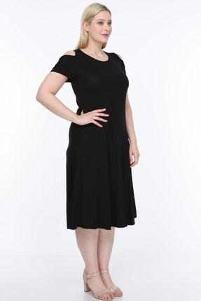 SENTEX Omuz Açık Elbise 1
