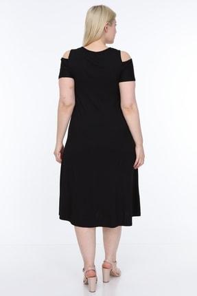 SENTEX Omuz Açık Elbise 2