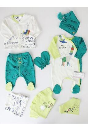 İmaj Erkek Bebek Yeşil Zürafalı 8'li Hastane Çıkışı 0