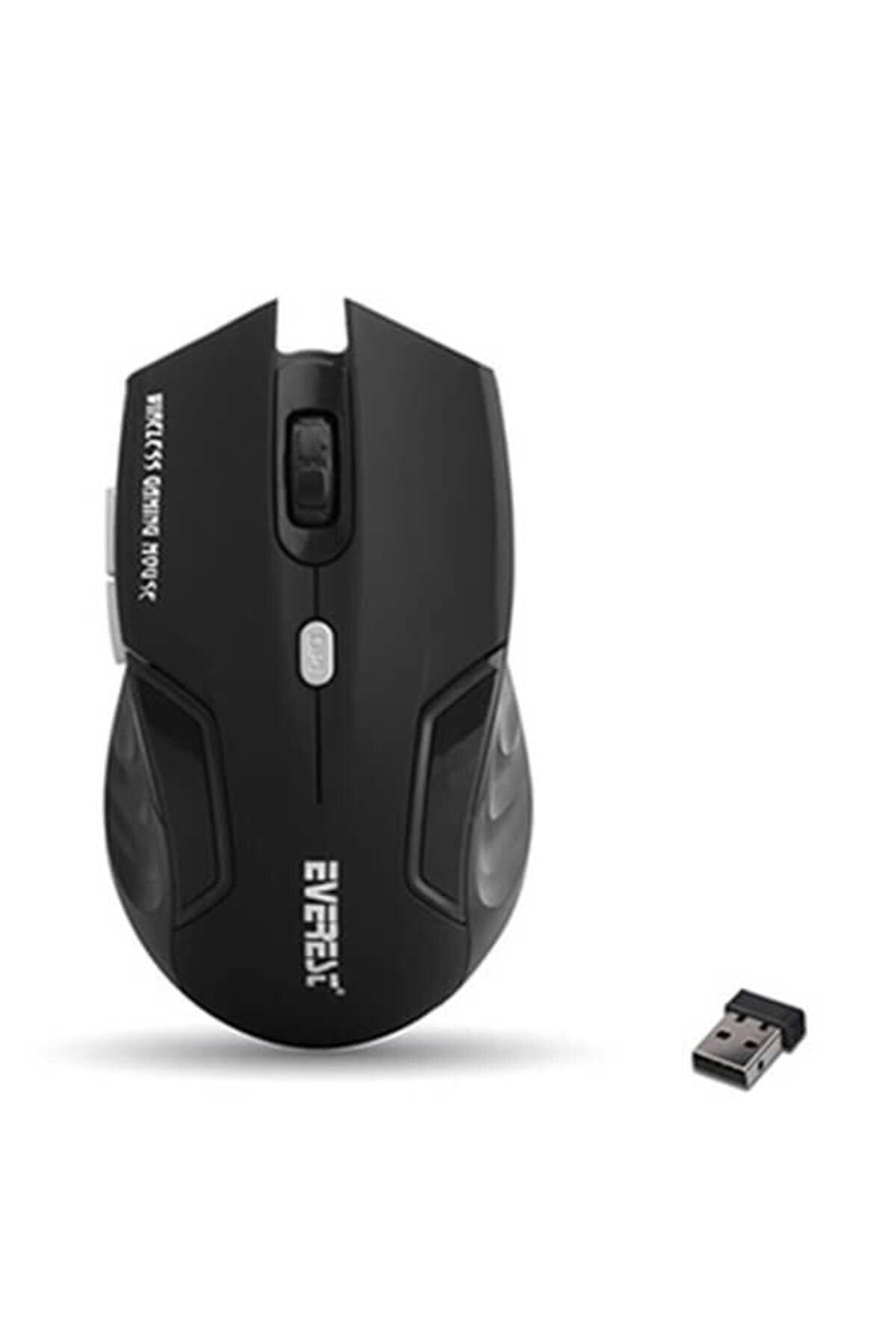 Km-230 Usb Siyah 2.4ghz Optik Kablosuz Mouse