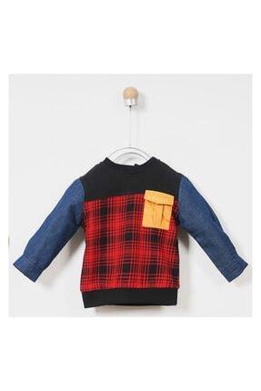 Panço Sweatshirt Erkek Bebek Siyah 0