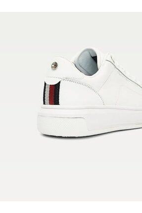 Tommy Hilfiger Kadın Th Cupsole Deri Sneaker 2