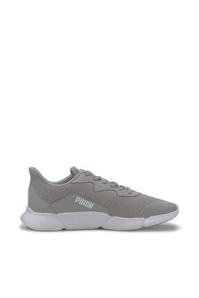 Puma INTERFLEX RUNNER Gri Kadın Koşu Ayakkabısı 100547183 4