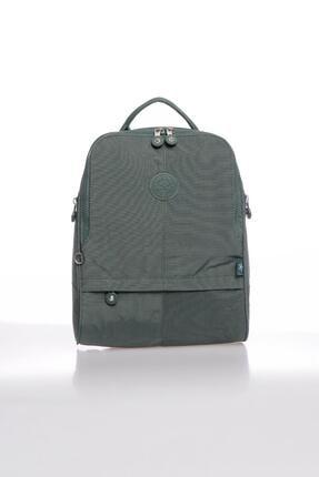 Smart Bags Smbky1117-0005 Haki Kadın Sırt Çantası 0