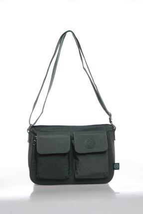 Smart Bags Smbk1177-0005 Haki Kadın Çapraz Çanta 0