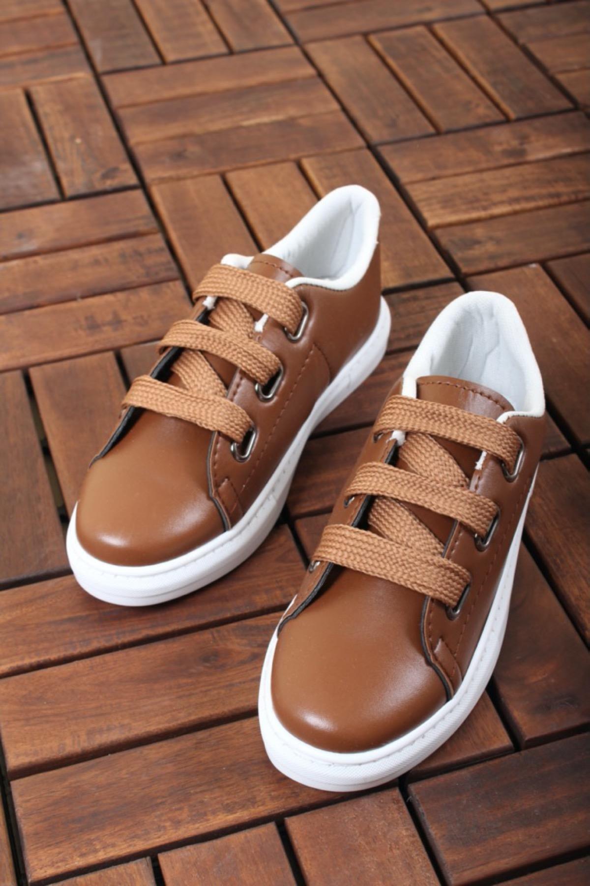 Zeno Kalın Bağcıklı Kadın Sneaker