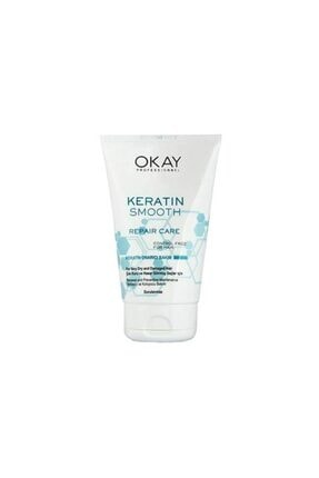 Okay Keratin Smooth Onarıcı Saç Bakım Kremi 100 ml 0