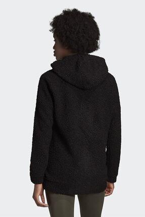 adidas Kadın Siyah Günlük Kapüşonlu Eşofman Üstü W Bb Hd Tt Gd3825 2