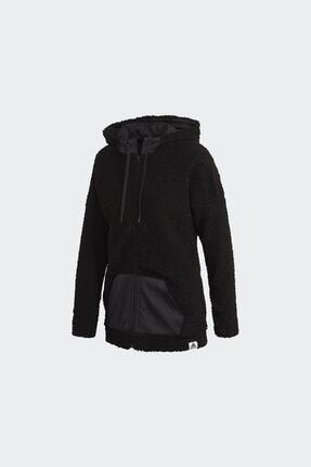 adidas Kadın Siyah Günlük Kapüşonlu Eşofman Üstü W Bb Hd Tt Gd3825 4