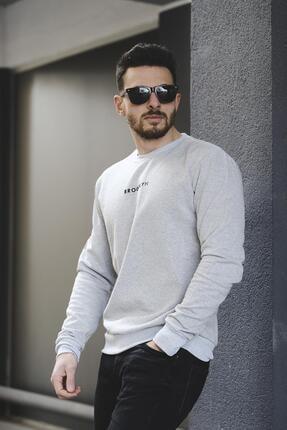 Oksit Lgg Brooklyn Pamuklu Erkek Sweatshirt 0