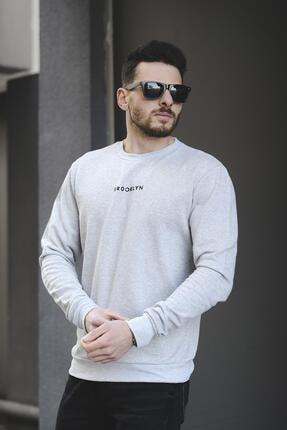 Oksit Lgg Brooklyn Pamuklu Erkek Sweatshirt 1