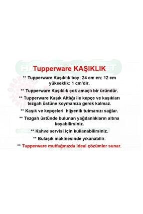 Tupperware Kaşık Altlığı ( Kaşık-kepçe Altlığı ) Hsgl 3