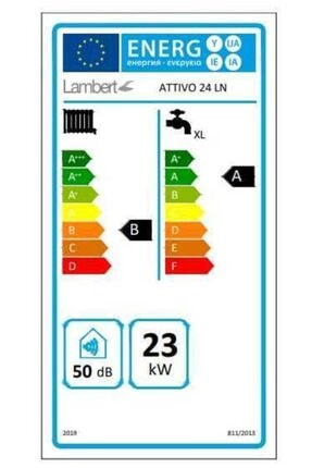 Baymak Lambert () Attivo 24 Ln (20000 Kcal) Yarı Yoğuşmalı Kombi 1