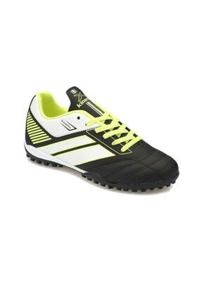 Kinetix TRIM TURF Siyah Neon Yeşil Beyaz Erkek Çocuk Halı Saha Ayakkabısı 100232869 0
