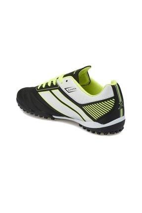 Kinetix TRIM TURF Siyah Neon Yeşil Beyaz Erkek Çocuk Halı Saha Ayakkabısı 100232869 2
