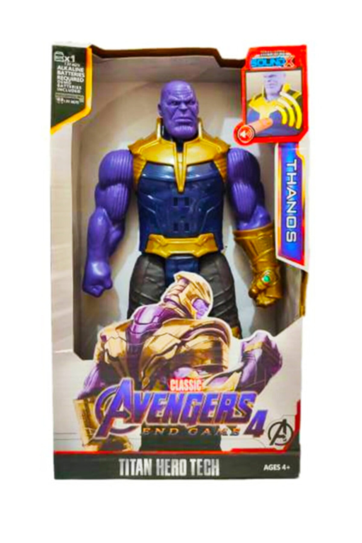 Thanos Yenilmezler Oyuncak Sesli Figür 30 Cm