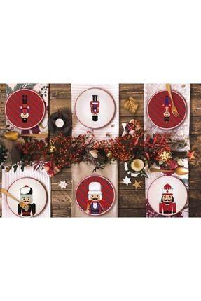 The Mia New Year Pasta Tabağı 6lı Set - 19cm 1