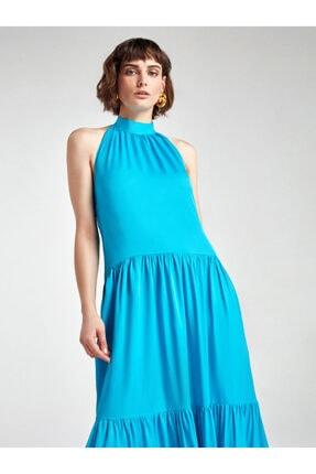 Nocturne Boyundan Bağlamalı Elbise 2