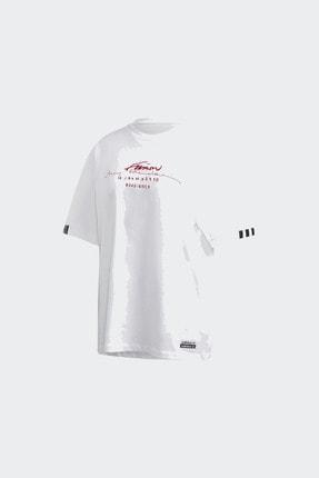 adidas Kadın Günlük Giyim T-shirt Oversized Tee Gd2976 4