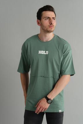 Oksit Crash Hold Bol Kesim Oversize Tshirt 0