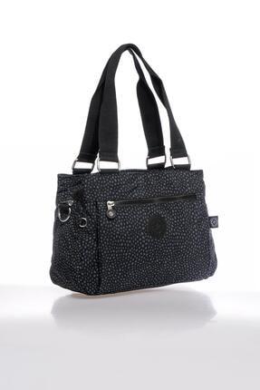Smart Bags Smbky1125-0091 Puanlı Siyah Kadın Omuz Çantası 1