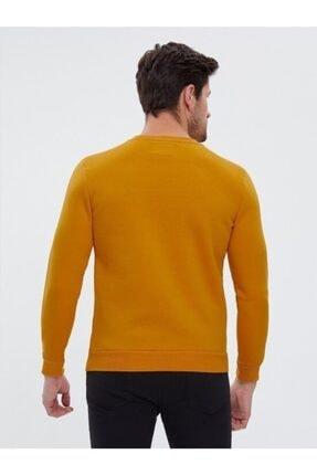 Loft Safran Sarı Slim Fit Erkek Sweatshirt 3
