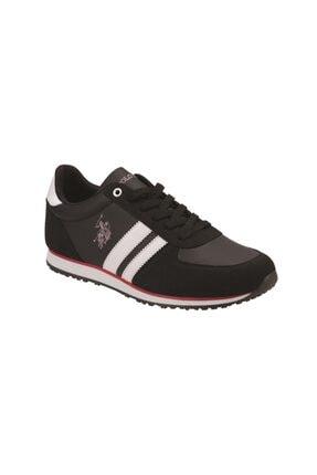 US Polo Assn PLUS WT 9PR Siyah Erkek Sneaker Ayakkabı 100418099 0